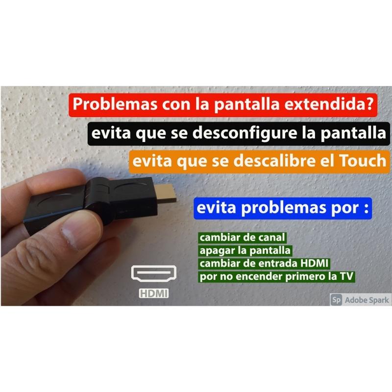 Estabilizador De Señal HDMI  Para Pantallas Extendidas